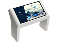 Интерактивный стол NTab IS 32 Full HD 6 касаний3D ОБОРУДОВАНИЕ<br>Сферы применения:Торговые и бизнес центрыГостиницыВыставкиБанки, офисы, представительства компанийМузеиЗалы ожидания вокзалов и аэропортовОсобенности:Стильный и современный дизайн, отлично подходит к любому интерьеруУниверсальный набор мультитач контента, ориентированного на образовательные и развлекательные целиПростая транспортировка и монтажПредельно высокая скорость реакции на касанияИспользуется технология определения касания, исключающая случайные или некорректные срабатыванияУстройство работает под управлением Windows 8.1 ProВозможно изменение комплектации исходя из ваших желаний и потребностей.<br>