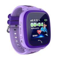 Водонепроницаемые Детские часы Smart Baby Watch W9 с GPS  ФиолетовыйДетские часы с GPS<br>Особенности&amp;nbsp;Водонепроницаемых часов&amp;nbsp;Smart Baby Watch W9:цветной 1,22 дюйма сенсорный LCD дисплей;класс водостойкости - IP67;уведомление на смартфон родителей о низком заряде аккумулятора;телефонная книга;магнитные контакты для зарядки, повышающие влагозащищённость;качественный гипоаллергенный силиконовый ремешок;обхват запястья: 120мм x 210мм;русскоязычное приложение&amp;nbsp;SeTracker&amp;nbsp;на Android и iOS.<br>