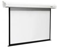 Экран Digis Electra формат 4:3 (180*135) (MW) DSEM-4302Экраны с электроприводом <br>Преимущества.Большой ассортимент размеров, высотой от 120 см до 300 см.Наличие чёрной светопоглащающей широкой каймы (от 60 см до 130 см, пропорциональной размеру экрана) у экранов формата 16:9 для установки нужной высоты проекции.Черная окантовка всех экранов для улучшения восприятия яркости изображения.Корпус полностью скрывает при сворачивании нижнюю планку.Бесшумный электрический мотор оптимальной мощности не требует обслуживания весь срок эксплуатации.Увеличение срока службы и удобство использования обеспечивает автоматическая остановка при разворачивании и свертывании.Легкая замена переключателя, который входит в базовую комплектацию, беспроводным устройством (инфракрасным либо радиочастотным).Настенная и потолочная установка.Ровная гладкая поверхность экрана.Отсутствие швов на проекционной поверхности на всех размерах модели.Экономичный экран с электроприводом для разных помещений.<br><br>Тип : Настенный<br>Способ проецирования: Прямая проекция<br>фориат: 4:3<br>тип покрытия: белое матовое