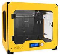 3D Принтер BQ WitBox Yellow3D Принтеры<br>3D Принтер WitBox Yellow:Кол-во головок: 1Обл.печати: 297 x 210 x 200Расходники: ABS, PLA, PVA 1.75ммТолщина слоя: 100-300 микронСкорость печати: 80 мм/секСтрана производитель: ИспанияГабариты, мм: 450 x 505 x 388<br><br>Кол-во экструдеров: 1<br>Область построения (мм): 297x210x200<br>Толщина слоя: 200 микрон<br>Толщина нити: 1,75 мм<br>Расходники: ABS, PLA, PVA<br>Платформа: без подогрева<br>Гарантия: 1 год<br>Страна производитель: Испания<br>Диаметр сопла (мм): 0.4 мм