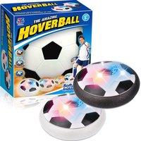 Мяч HoverBall для аэрофутбола светящийся с музыкой  ЧёрныйГаджеты<br>Характеристики:Возраст:&amp;nbsp;от 3 летМатериал: ABSПитание: работает от 4 батареек АА (в комплект не входят)Размер упаковки: 190х190х70 ммУпаковка: картоннаядиаметр мяча:&amp;nbsp;185 ммВес:&amp;nbsp;370 г<br>