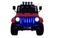 Электромобиль Jeep T008TT красныйДетские электромобили<br>ЭЛЕКТРОМОБИЛЬ JEEP T008TT&amp;nbsp;С ДИСТАНЦИОННЫМ УПРАВЛЕНИЕМ КРАСНЫЙ ЦВЕТСветовые (передние фары, прожектора) и звуковые эффекты.Индикатор заряда батареи.Пульт управления: индивидуальный (настраивается Bluetooh)Колеса: каучуковые низкопрофильныеСкорость: 1 скорость вперед, одна назад.Двери: двери не открываются. Открывается багажник.Открывается капот.Сидение: кожаное. Ремень безопасности.Вход для MP3, microSD-входРазмер собранной модели: 116*68*79,5см, вес: 24кг, макс. нагрузка: 30кгАккумулятор: 12V/7Ah-20hrРедуктор: 12V*2<br><br>Марка: Jeep<br>Модель: T008TT<br>Сиденье: Кожаное<br>Колёса: Каучуковые низкопрофильные<br>Кол-во мест: 2<br>Цвет: Красный