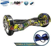 Smart Balance Transformer 8 APP и BalanceГироскутеры<br>Мини-сигвей Smart Transformers:&amp;nbsp;Max скорость: 15 км/чзапас хода: 20 кмразмер колес: 6,5Max вес: 20 кг - 130 кгмасса: 11.5 кгВремя зарядки:&amp;nbsp;2-3 часаНапряжение:&amp;nbsp;36 ВТип батареи:&amp;nbsp;литий-ионная<br><br>Максимальная скорость: 15 км/ч<br>Дальность пробега на одной зарядке: 20 км<br>Размер колес: 6,5<br>Вес водителя: 35-130 кг<br>Вес: 11.5 кг<br>Максимальный угол подъема: 15 градусов<br>Радиус разворота: 360 градусов<br>Габариты: 584x186x178 мм<br>Мощность: 2 колеса по 350 Вт<br>Время зарядки: 2-3 часа<br>Максимальная рабочая температура: До + 50 градусов<br>Минимальная рабочая температура: от -15 градусов цельсия<br>Напряжение: 36 В<br>Начальная емкость: 2-4 а/час<br>Тип батареи: литий-ионная