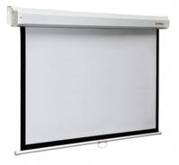 Экран Digis Space формат 16:9 (220*220) (HCG) DSSH-162204Настенные экраны<br>ПреимуществаБольшой ассортимент размеров, высотой от 120 см до 300 см.Механизм застопоривания для выбора нужного формата и высоты проекции.Настенное и потолочное крепление.Наличие чёрной светопоглащающей широкой каймы (от 70 см до 130 см, пропорциональной размеру экрана) у экранов формата 16:9 для установки нужной высоты проекции.Черная окантовка всех экранов для улучшения восприятия яркости изображенияРовная гладкая поверхность экрана.Отсутствие швов на проекционной поверхности на всех размерах модели.<br><br>Тип : Настенный<br>Способ проецирования: Прямая проекция<br>Формат: 16:9<br>Тип покрытия : Белое матовое