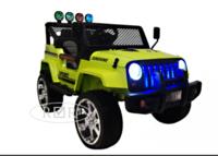 Электромобиль Jeep T008TT зеленыйДетские электромобили<br>ЭЛЕКТРОМОБИЛЬ JEEP T008TT&amp;nbsp;С ДИСТАНЦИОННЫМ УПРАВЛЕНИЕМ ЗЕЛЕНЫЙ ЦВЕТСветовые (передние фары, прожектора) и звуковые эффекты.Индикатор заряда батареи.Пульт управления: индивидуальный (настраивается Bluetooh)Колеса: каучуковые низкопрофильныеСкорость: 1 скорость вперед, одна назад.Двери: двери не открываются. Открывается багажник.Открывается капот.Сидение: кожаное. Ремень безопасности.Вход для MP3, microSD-входРазмер собранной модели: 116*68*79,5см, вес: 24кг, макс. нагрузка: 30кгАккумулятор: 12V/7Ah-20hrРедуктор: 12V*2<br><br>Марка: Jeep<br>Модель: T008TT<br>Сиденье: Кожаное<br>Колёса: Каучуковые низкопрофильные<br>Кол-во мест: 2<br>Цвет: Зеленый