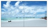 Видеостена Samsung 2x2 92Видеостены<br>Особенности Samsung UE46DДиагональ 46 дюймовРазрешение 1920 х 1080Соотношение сторон 16:9Контрастность 4000:1Яркость 450 кд/м&amp;sup2;Угол обзора 178 градусовПрофессиональные панели Samsung серии UED позволяют создать тончайшую видеостену. Эти ультратонкие и легкие панели созданы для экономии места; они едва выступают от стены и служат прекрасным декором вашему бизнесу. Легкие и тонкие панели в сочетании с настенными кронштейнами позволяют легко и быстро произвести монтаж видеостены в любом, даже очень тесном пространстве. Профессиональные панели отличаются исключительно узкой рамкой, благодаря чему вся площадь видеостены кажется сплошным огромным цифровым экраном.Современные панели из серии UED способны производить следующие операции:загрузку;воспроизведение;планирование и обмен режимами;вывод контента на экран при помощи беспроводной технологии - Wi-Fi.Высокое разрешение и яркость создают изображение отличного качества, которое привлечет внимание клиентов. Узкая рамка (11 мм) позволяет создавать видеостены с единым изображением сколь угодно большого размера. Панель может быть установлена как горизонтально, так и вертикально (ландшафтная и портретная ориентации).Панели Samsung позволят удовлетворить любые потребности и получить качественное изображение в любых условиях.<br><br>Соотношение сторон: 16:9<br>диагональ панели: 46<br>диагональ видеостены: 92<br>рашрешение: 1920 х 1080 full hd