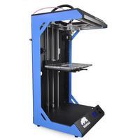 3D принтер WANHAO Duplicator 5S3D Принтеры<br>3D принтер Duplicator 5S:Область печати: 29 &amp;times; 19 &amp;times; 59Толщина слоя: 20 - 300 микронКол-во головок: 1Расходники: PLAСкорость печати: 150 мм/секОбъем печати:&amp;nbsp;32.5 лТемпература экструдера:&amp;nbsp;230 СЭлектропитание:&amp;nbsp;220 ВПоддерживаемые форматы файлов:&amp;nbsp;.STL, G-CODE<br><br>Кол-во экструдеров: 1<br>Область построения (мм): 290x190x590<br>Толщина слоя: 50 микрон<br>Толщина нити: 2,85 мм<br>Расходники: PLA<br>Платформа: без подогрева<br>Гарантия: 1 год<br>Страна производитель: Китай<br>Диаметр сопла (мм): 0,4