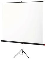 Экран на штативе 125х125 cм Braun StandardЭкраны на штативе<br>Функциональные экраны высокого качества.Удобная пластиковая ручка для переноски.Матовая белая поверхность &amp;ndash; для проекции в помещениях с регулируемым освещением.Толщина полотна экрана &amp;ndash; 0,28 мм.<br><br>Тип: на штативе<br>Формат: 1:1<br>Способ проецирования: Прямая проекция<br>тип покрытия: белое матовое