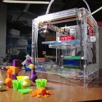 3D Принтер JoysMaker R2 С 1 головкойСнятые с производства<br>Домашний 3D Принтер Кол-во головок: 1 / 2 Область&amp;nbsp;печати:&amp;nbsp;21 х 21 х 22 см (9.7 литров) Расходники: ABS и PLA, 1.75 и 3 мм Толщина слоя: 50 микрон&amp;nbsp;Толщина стенки:190 микрон (0.19 мм) Скорость:&amp;nbsp;54 см&amp;sup3;/час&amp;nbsp;Подогреваемая платформа:&amp;nbsp;да&amp;nbsp;Автоматическая калибровка платформы: да&amp;nbsp;Поддерживаемая ОС:&amp;nbsp;Win/Mac/Linux Подключение: USB, SD-карта&amp;nbsp;Программное обеспечение:&amp;nbsp;Cura&amp;nbsp;(на русском с подсказками)&amp;nbsp;Энергопотребление:&amp;nbsp;0,019 кВт&amp;nbsp;Гарантия:&amp;nbsp;1 год<br>