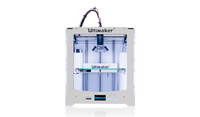 3D Принтер Ultimaker 2 Plus +3D Принтеры<br>3D Принтер Ultimaker 2:&amp;nbsp;Кол-во головок: 1Обл.печати: 230 x 225 x 205Расходники: ABS, PLAТолщина нити: 1.75ммТолщина слоя: 20 микронСкорость печати: 30 - 300 мм/секСтрана производитель: НидерландыОбновленный механизм подачиХотэнд со сменными соплами (Olsson Block)Улучшенный обдув<br><br>Платформа: с подогревом<br>Кол-во головок: 1<br>Толщина слоя: 20 микрон<br>Страна производитель: Нидерланды<br>Расходники: ABS, PLA<br>Категория 3D принтера: Настольный 3D Принтер<br>Скорость печати: 30 - 300 мм/сек<br>Область печати: 230x225x205 мм