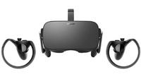 Комплект Oculus Rift CV1 + джойстики Oculus TouchВиртуальная реальность<br>ХАРАКТЕРИСТИКИ OCULUS RIFT CV1:Диагональ дисплея 5 дюймовРазрешение 2160 х 1200 пикселейЧастота обновления 90 HzСовместимость с ПК ДаУгол обзора FOV 110 градусовСовместимость с ОС WindowsИнтерфейсы 1x HDMI 1.3, 2xUSB 3.0, 1xUSB 2.0Вес шлема 470 гТребования к ПК и ОС: Видеокарта Nvidia GTX970/ AMD R9 290 и выше, процессор Intel Core i5-4590/AMD FX-8350 и выше, 8 Gb оперативной памяти, Windows 7 SP1 и вышеХАРАКТЕРИСТИКИ OCULUS TOUCH:АкселерометрыЕсть вибромоторБеспроводное подключение Bluetooth 4.0<br>