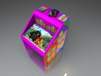 Интерактивный стол Домик 24Full HD 4 касанияИнтерактивные столы <br>Сферы применения:Детские сады;Школы;Игровые зоны в Банках, Ресторанах, Отелях.Особенности:интуитивно понятный интерфейс;компактные размеры;возможность установки приложений сторонних разработчиков;275 встроенных игр и приложений.Возможно изменение комплектации исходя из ваших желаний и потребностей.<br>