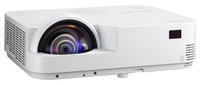 Мультимедийный проектор NEC M353WSМультимедийные проекторы<br><br><br>Объектив: Короткофокусный<br>Тип устройства: DLP<br>Класс устройства: портативный<br>Рекомендуемая область применения: для интерактивной доски<br>Реальное разрешение: 1280x800