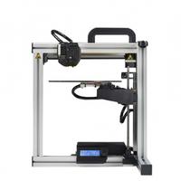 3D Принтер Felix 3.0 С 1-й головкой3D Принтеры<br>3D Принтер Felix 3.0: Кол-во головок: 1 / 2 Область&amp;nbsp;печати:&amp;nbsp;25.5 х 20.5 х 23.5 см (12.284 литров) Расходники:&amp;nbsp;ABS, PLA, Нейлон - 1.75 мм Толщина слоя: 50 микрон Скорость:&amp;nbsp;54&amp;nbsp;см&amp;sup3;/час Подогреваемая платформа: да Макс. температура печати: 280 С Поддерживаемая ОС: Windows Программное обеспечение: Repetier Host, Slic3r Pronterface Формат файлов: .STL Энергопотребление: Блок питания FlexATX, 12В 250Вт&amp;nbsp;Вес, кг: 6.7&amp;nbsp;Габариты, см: 45 х 50 х 53&amp;nbsp;Гарантия: 1 год<br><br>Кол-во экструдеров: 2<br>Область построения (мм): 255x205x235<br>Толщина слоя: 50 микрон<br>Толщина нити: 1,75 мм<br>Расходники: ABS, PLA, Нейлон<br>Платформа: с подогревом<br>Гарантия: 1 год<br>Страна производитель: Нидерланды
