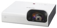 Мультимедийный проектор Sony VPL-SW235Мультимедийные проекторы<br>Короткофокусный проектор Sony VPL-SW235 отлично подойдет для использования с интерактивной доской.Особенности Sony VPL-SW235&amp;nbsp;Малое расстояние проекции -79&amp;nbsp;см дистанции для проекции изображения диагональю 80&amp;nbsp;дюймов&amp;nbsp;Точная цветопередача благодаря технологии 3LCD Color Light Output, а также высокая яркость -Проектор яркостью 3000&amp;nbsp;лм обладает аппаратным разрешением WXGA (1280 x 800) 16:10.&amp;nbsp;Лампы с длительным сроком службы -10&amp;nbsp;000&amp;nbsp;ч. (при эксплуатации в режиме ?Low?)&amp;nbsp;Беспроводные презентации с планшетного ПК (iOS или Android) -Благодаря возможности беспроводной передачи данных, возможна демонстрация презентаций прямо с вашего планшетного ПК или смартфона<br><br>Объектив: Короткофокусный<br>Тип устройства: LCD x3<br>Класс устройства: стационарный<br>Рекомендуемая область применения: для интерактивной доски<br>Реальное разрешение: 1280x800