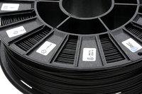 Катушка Rubber пластик Rec 1.75 мм ЧерныйПластик для 3D Принтера<br>Катушка Rubber пластик Rec 1.75 мм Черный:Диаметр нити: 1.75 ммВес: 750 гРекомендуемая скорость печати:&amp;nbsp;5 - 20 мм/сТемпература стола:&amp;nbsp;100 - 120С<br><br>Цвет: Чёрный<br>Диаметр нити: 1,75 мм<br>Длина: 120 м<br>Вес: 0,75 кг<br>Рекомендуемая скорость печати: 5 - 20 мм/с<br>Упаковка: 210х225х70 мм<br>Температура стола: 100 - 120°С<br>Температура сопла: 230 - 250°С