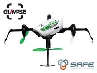 Квадрокоптер Blade Glimpse FPV w/SafeКвадрокоптеры<br>Blade Glimpse FPVПередача видео на смартфон через WiFiПрочная пластиковая рама с защитой пропеллеров и бортовой электроникиКамера 1mp с разрешением HD 1280&amp;times;720pПередача видеосигнала до 25 метровСистема стабилизации SAFEВремя полета до 8 минут<br><br>FPV (вид от первого лица): да<br>Тип управления: Wi-Fi, радиоканал, пульт управления в комплекте<br>Тип двигателей: коллекторный<br>Разрешение фронтальной камеры: 1280?720p<br>Зарядное устройство: USB кабель<br>Пульт ДУ: 4-канальный пульт управления