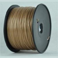 Катушка ABS-пластика Wanhao 1.75 мм 1кг., темно-золотая, No. 16Пластик для 3D Принтера<br>Катушка ABS-пластика Wanhao 1.75 мм 1кг., темно-золотая, No. 16:Рекомендуемая температура подогрева площадки:&amp;nbsp;90 - 120Страна производства:&amp;nbsp;КитайСовместимость:&amp;nbsp;Любые FDM 3D принтеры с подогреваемой платформойВысота катушки: 80 ммПосадочный диаметр катушки: 40 ммВнешний диаметр катушки: 195 мм<br><br>Вес: 1.2 кг<br>Цвет: Темно-золотая<br>Тип пластика: ABS<br>Диаметр нити: 1,75 мм<br>Температура плавления: 210-260<br>Производитель: Wanhao<br>Рекомендуемая скорость печати: 5<br>Вид намотки: Катушка<br>Внешний диаметр катушки: 195 мм<br>Посадочный диаметр катушки: 40 мм<br>Высота катушки: 80 мм<br>Вид упаковки: Картонная коробка, герметичный пакет с селикагелем<br>Совместимость: Любые FDM 3D принтеры с подогреваемой платформой<br>Страна производства: Китай<br>Рекомендуемая температура подогрева площадки: 90-120