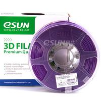 Катушка ABS-пластика Esun 1.75 мм 1кг., пурпурная (ABS175Z1)Пластик для 3D Принтера<br>Катушка ABS-пластика ESUN 1.75 мм 1кг., пурпурная (ABS175Z1):Рекомендуемая температура подогрева площадки:&amp;nbsp;95 - 110Страна производства: КитайСовместимость:&amp;nbsp;Любые FDM 3D принтеры с подогреваемой платформойВысота катушки:&amp;nbsp;68 ммПосадочный диаметр катушки:&amp;nbsp;55 ммВнешний диаметр катушки:&amp;nbsp;200 ммВид намотки:&amp;nbsp;Катушка<br><br>Вес: 1.2 кг<br>Цвет: Пурпурный<br>Тип пластика: ABS (АБС)<br>Диаметр нити: 1,75 мм<br>Температура плавления: 220 - 260<br>Производитель: Esun<br>Рекомендуемая скорость печати: 10<br>Вид намотки: Катушка<br>Внешний диаметр катушки: 200 мм<br>Посадочный диаметр катушки: 55 мм<br>Высота катушки: 68 мм<br>Вид упаковки: Картонная коробка, герметичный пакет с селикагелем<br>Совместимость: Любые FDM 3D принтеры с подогреваемой платформой<br>Страна производства: Китай<br>Рекомендуемая температура подогрева площадки: 95 - 110