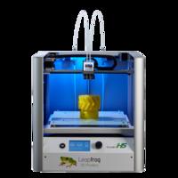 3D принтер Leapfrog Creatr HS3D Принтеры<br>Материал, используемый для 3D печати: ABS; PLA; PVA; Laybrick; Nylon; PVA, HIPSОбласть печати: 230 x 270 x 180мм;Толщина слоя: от 20 до 350 микрон;Диаметр нити: 1,75;Диаметр сопла, мм: 0,35;Наличие подогреваемой платформы: Есть;Количество печатающих головок: 2;Совместимость с программным обеспечением: Windows, Mac OS X, LinuxСкорость печати: до 300 мм/сек;Программное обеспечение: Repetier Host Leapfrog Software Типы файлов: STL, G-code;Подключение 3D принтера к компьютеру: USB, SD;Габариты: 500 мм (ширина) х 600 мм (глубина) х 500 мм (высота) Вес &amp;mdash;32 кг;Мощности: 100-240 V, 50-60 Hz, 220W;Гарантия: 1 год;<br><br>Кол-во экструдеров: 2<br>Область построения (мм): 230x270x180<br>Толщина слоя: 20 микрон<br>Толщина нити: 1,75 мм<br>Расходники: PLA, ABS,нейлон, гибкий PLA и PVA<br>Платформа: с подогревом<br>Гарантия: 1 год<br>Страна производитель: Нидерланды<br>Диаметр сопла (мм): 0,35<br>Потребляемая мощность: 100-240 V, 50-60 Hz, 220W;