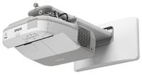 Мультимедиа-проектор Epson EB-570Мультимедийные проекторы<br>Ультракороткофокусный 3LCD проектор&amp;nbsp;Epson EB-570&amp;nbsp;предназначен специально для создания интерактивных классов в школах и вузах. Этот яркий и простой в использовании проектор можно установить, всего в нескольких сантиметрах от экрана ? для комфортной работы учителя, без теней на экране.<br>