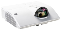 Мультимедийный проектор Hitachi CP-CX301WNМультимедийные проекторы<br>Hitachi CP-CX301W идеально подойдет для малых и средних переговорных комнат, данной модели необходимо всего 95 см от объектива до экрана, чтобы выдать изображение диагональю 203 см (80 ).<br><br>Объектив: Короткофокусный<br>Тип устройства: LCD x3<br>Класс устройства: портативный<br>Рекомендуемая область применения: для интерактивной доски
