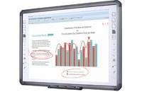 Интерактивная доска QOMO QWB882 - 82Интерактивные доски<br><br><br>Вес: 23кг<br>Разрешение: 32767x32767<br>Интерфейс: USB (A-B)<br>Поддержка ОС: Win 7/8 (32, 64bit)<br>Область применения: Для детского сада<br>Формат: 4:3<br>Диагональ (дюймы): 90<br>Размер рабочей поверхности: 1716 x 1175мм<br>Поверхность: Металлокерамика<br>Точность позиционирования: 1мм<br>Ввод информации касанием: Любой предмет<br>Одновременных касаний: 6