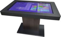 Интерактивный стол Interactive Project Touch 32 (10 касания, диагональ 81 см)Интерактивные маркерные доски<br>Развивающее программное обеспечение установленное на интерактивном столе:1. Набор из 288 развивающих игр и интерактивных заданий, для обучения 3-5 -летнего ребёнка счёту и чтению, тренировки внимания, памяти и развитию логического мышления.В комплект включены игры, пазлы и раскраски, знакомящие детей с окружающим миром, а также интерактивные пособия по русскому языку и арифметике: Знакомство с буквами, чтение односложных слов, двусложных слов, сборка слова из слогов, рисовалка, перемена, семи цветик, где что, кто за забором, разложи по порядку, кроха и машины, сделай сам, направления, пошуми, не такой, половинки, цвета, сложи сам, на кого похож, циферки, что длиннее, что выше, что шире, угадай кто это, разложи, подели, азбука, где эта буква, что потерялось, наряди елку, на что это похоже, кто кому позвонил, третий лишний, похожи, нарисуй картину, собери игрушки, повтори узор, чьи это половинки, дорога к дому, покажи.Упражнения: Сложение чисел, вычитание чисел, состав числа, сравнение групп объектов, сравнение чисел и т.д.Все управление заданиями сводится к простым и всем знакомым движениям пальца или стилуса по экрану, точно как на любом планшете или ином сенсорном устройстве.2. Интерактивный тренажёр Правила дорожного движения для дошкольников включает набор из 25 игр-заданий для знакомства ребёнка с правилами дорожного движения и основными знаками, его регулирующими.Программа снабжена интуитивно понятным интерфейсом. Дополняющие программу плакаты позволяют наглядно объяснить или напомнить ребёнку перед занятиями рассматриваемый материал.Программное обеспечение Правила дорожного движения для детей включает в себя следующие задания: Выдели, подели на группы, не то, кто из них, что лишнее, верно не верно, обойди, хороший плохой, светофор, пешеход, командир улицы, собери сам, раскрась правильно, что это, дорога к дому, сможешь узнать, парочки, это так, выбери 