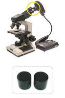 Адаптер для микроскопа AVerVision F30/F50Документ-камеры<br>Адаптер-переходник для микроскопа AverVision - используется для подключения документ-камеры к окулярам микроскопа. В комплекте две насадки разного диаметра &amp;ndash; 28 и 34 мм для различных микроскопов. Адаптеры различаются в зависимости от модели документ-камеры AverVision.<br>
