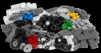 9387 Набор колесОбразовательные решения LEGO<br>Возрастная категория:&amp;nbsp;4+Тип кубиков:&amp;nbsp;LEGO&amp;reg; SystemКоличество деталей:&amp;nbsp;286<br>