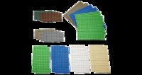9388 Маленькие платформы для строительства LEGOОбразовательные решения LEGO<br>Возрастная категория:&amp;nbsp;4+Тип кубиков:&amp;nbsp;LEGO&amp;reg; SystemКоличество деталей:&amp;nbsp;22<br>