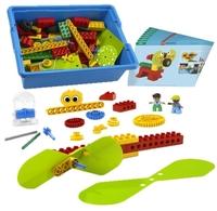 9656 Образовательное решение  Первые механизмыОбразовательные решения LEGO<br>Возрастная категория:&amp;nbsp;5+Тип кубиков:&amp;nbsp;LEGO&amp;reg; DUPLO&amp;reg;Количество деталей:&amp;nbsp;102<br>