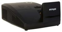 Мультимедийный проектор InFocus IN136USTМультимедийные проекторы<br>Особенности InFocus IN136USTподдержка всех актуальных стандартов 3D для DLP проекторов, а также наличие порта 3D Sync для подключения инфракрасного 3D эмиттераширокий набор интерфейсов подключения ? HDMI, VGA и композитный входы, а также вход и выход стерео-аудио обеспечивают простую работу с различными современными цифровыми и аналоговыми устройствамиблагодаря компактным размерам проектора возможна установка на пол, потолок или презентационную тележку, а также легкая транспортировка из помещения в помещениепроектор пригоден для работы в режиме 24/7два встроенных динамика суммарной мощностью 20 Вт работают как комнатная акустическая система и позволяют обходиться без приобретения дополнительного аудиооборудования и коммутационных принадлежностейсетевое управление и контроль через порты RS232 и LAN (RJ45)наличие выхода для микрофона (3.5mm) позволяет снизить голосовую нагрузку выступающего<br><br>Объектив: Ультракороткофокусный<br>Тип устройства: DLP<br>Класс устройства: стационарный<br>Рекомендуемая область применения: для интерактивной доски<br>Реальное разрешение: 1280x800