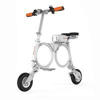 Электровелосипед Airwheel E3 ЧерныйЭлектровелосипеды<br>Макс. скорость 20 км/чДальность 30 кмДиаметр 8Вес 13 кг<br><br>Максимальная скорость: 20 км/ч<br>Время зарядки: 3 ч<br>Вес велосипеда: 13 кг<br>Пробег на одном заряде: 30 км