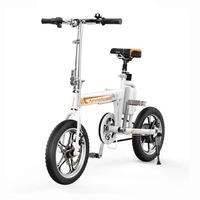 Электровелосипед Airwheel R5 БелыйЭлектровелосипеды<br>Макс. скорость 20 км/чДальность 30 кмДиаметр 16Вес 18,5 кг<br><br>Максимальная скорость: 20 км/ч<br>Время зарядки: 3 ч<br>Вес велосипеда: 18,5 кг<br>Пробег на одном заряде: 30 км