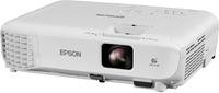 Мультимедийный проектор EPSON EB-X05Проекционное оборудование<br>Характеристики:Технология: LCD: 3&amp;times;0.55&amp;Prime; P-Si TFTРазрешение: XGA (1024&amp;times;768)Яркость: 3300&amp;nbsp;ANSI lmЦветовая яркость: 3300&amp;nbsp;ANSI lmКонтрастность: 15000:1Зум&amp;nbsp;1,2х (оптический)Передача изображения по&amp;nbsp;беспроводной сети Wi-fi (опционально)Автоматическая коррекция вертикальных трапецеидальных искаженийБыстрая коррекция горизонтальных трапецеидальных искажений ручкой-слайдеромФункция Quick CornerВозможность просмотра изображений напрямую с&amp;nbsp;USB носителейФункция копирования настроек и&amp;nbsp;обновления прошивки через USBUSB Display 3-в-1&amp;nbsp;&amp;mdash; передача изображения, звука и&amp;nbsp;сигналов управления по&amp;nbsp;USB кабелюПрямое подключение к&amp;nbsp;документ-камере Epson ELPDC07Встроенный динамик 2&amp;nbsp;ВтФронтальный вывод теплаМоментальное выключениеВес: 2,5&amp;nbsp;кг<br>