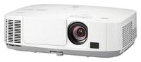 Мультимедийный проектор NEC NP-P451WМультимедийные проекторы<br>Проектор NEC NP-P451W рекомендован для установки в учебных аудиториях, конференц-залах, офисах и школах.Применяемые технологии в проекторе NEC P451W:&amp;nbsp;автоматическое включение / выключение;&amp;nbsp;управление Crestron RoomView;&amp;nbsp;функция прямого включения;&amp;nbsp;&amp;nbsp;разъем Kensington security slot;&amp;nbsp;ручная вертикальная коррекция трапецеидального искажения;&amp;nbsp;LAN;&amp;nbsp;функция NaViSet;&amp;nbsp;экранное меню на 27 языках;&amp;nbsp;таймера выключения;&amp;nbsp;система безопасности с помощью пароля;&amp;nbsp;возможность виртуального дистанционного управления для прямого контроля с помощью ПК;&amp;nbsp;функция Central Asset Management и функция таймера с помощью бесплатного ПО PC Control Utility;&amp;nbsp;сокращенное энергопотребление, всего 0,4Вт в режиме ожидания;корректировка цвета стен.<br><br>Объектив: Стандартный<br>Тип устройства: LCD x3<br>Класс устройства: стационарный<br>Рекомендуемая область применения: для офиса<br>Реальное разрешение: 1280x800