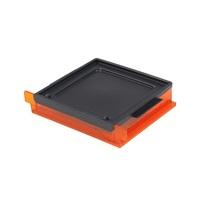 Formlabs Ванночка для фотополимера Form 1+3D ОБОРУДОВАНИЕ<br>Ванночка для Form 1+ представляет собой прозрачный контейнер оранжевого цвета, сделанный из устойчивого к ультрафиолету и легкоочищаемого от фотополимера акрила.<br>
