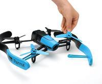 Квадрокоптер Parrot Bebop Drone Blue Area 3, синийКвадрокоптеры<br>&amp;nbsp; &amp;nbsp;Parrot Bebop Drone Blue Area 3:Операционная система:&amp;nbsp;LinuxТип аккумулятора:&amp;nbsp;Li-PolЕмкость аккумулятора:&amp;nbsp;1200 мА/чПроцессор:&amp;nbsp;Parrot P7 (двухъядерный CPU Cortex 9)Встроенный компьютер: ДаКамера:&amp;nbsp;14 МПМатериал корпуса:&amp;nbsp;ABS-пластикТип двигателей:&amp;nbsp;БесколлекторныеВремя полета:&amp;nbsp;минимум 22 минутыФункция автоматического возврата: ДаВес:&amp;nbsp;400 гРазмеры:&amp;nbsp;28 x 32 x 8,4 смФормат фото:&amp;nbsp;JPEG, RAW, DNGСистемные требования для мобильных устройств:&amp;nbsp;Android 4.0 или более поздняя, iOS 7.0 или более поздняяМаксимальная горизонтальная скорость:&amp;nbsp;13 м/с (46,8 км/ч)Разрешение видеосъемки:&amp;nbsp;1920х1080p (30 к/с)Гироскоп:&amp;nbsp;3х-осевойАкселерометр:&amp;nbsp;3х-осевойМагнетометр:&amp;nbsp;3х-осевойЛинза:&amp;nbsp;с углом 180 (1/2,2)Формат кодирования видео:&amp;nbsp;H264Размер упаковки:&amp;nbsp;35 x 31 x 11 смВес упаковки:&amp;nbsp;1.4 кгДальность действия аппаратуры:&amp;nbsp;до 250 метровОперативная память:&amp;nbsp;8 ГБВстроенный накопитель:&amp;nbsp;8 ГБТип матрицы:&amp;nbsp;CMOSКоличество оптических элементов: 6Стабилизация видео:&amp;nbsp;цифровая, 3х-осеваяWi-Fi антенны:&amp;nbsp;двухдиапазонные со стандартом MIMO (802.11a/b/g/n/ac, 2,4 и 5 ГГц)Мощность излучаемого сигнала:&amp;nbsp;до 21 дБ/мГеолокализация:&amp;nbsp;GNSS (GPS + ГЛОНАСС + Галилео)<br><br>Тип матрицы: CMOS<br>Материал корпуса: ABS-пластик<br>Тип двигателей: Бесколлекторные<br>Время полета: минимум 22 минуты<br>Функция автоматического возврата: да<br>Вес: 400 г<br>Размеры: 28 x 32 x 8,4 см