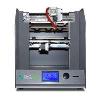 3D принтер Printbox 1803D Принтеры<br>Страна производитель: РоссияКол-во печатающих головок: 1 экструдерОбласть печати, мм: 180 х 180 х 160Подогреваемый рабочий стол: ДаПоддерживаемые материалы: PLA, ABS, HIPSПечать с SD-карты: ДаТолщина слоя от (микрон): 50Диаметр сопла, мм: 0,4; 0,5Технология печати: FDMПО:&amp;nbsp;RepetierHost<br><br>Толщина слоя: 50 микрон