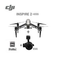 Квадрокоптер DJI Inspire 2 (с камерой X5S, c лицензией)Профессиональные квадрокоптеры<br>Технические данныеКвадрокоптер (модель: T650)&amp;bull; Вес: 3290 г (с двумя батареями, без подвеса и камеры)&amp;bull; Размер по диагонали (не считая пропеллеры): 605 мм&amp;bull; Максимальный полетный вес: 4000 г&amp;bull; Максимальная высота взлета над уровнем моря: 2500 м; 5000 м при использовании специальных пропеллеров&amp;bull; Максимальная продолжительность полета: около 27 минут (с Zenmuse X4S)&amp;bull; Максимальный угол наклона: Р-режим: 35 (с включенной передней оптической системой: 25); А-режим: 35; S-режим: 40&amp;bull; Максимальная скорость подъема: Р-режим / А-режим: 5 м/с; S-режим: 6 м/с&amp;bull; Максимальная скорость спуска: по вертикали: 4 м/с; наклон: 4 - 9 м/с. Скорость наклона по умолчанию - 4 м/с, может быть настроена в приложении.&amp;bull; Максимальная скорость: 108 км/ч&amp;bull; Точность зависания с GPS: по вертикали: &amp;plusmn;0,5 м или &amp;plusmn;0,1 м (с включенной нижней оптической системой); по горизонтали: &amp;plusmn;1,5 м или &amp;plusmn;0,3 м (с включенной нижней оптической системой)&amp;bull; Рабочая температура: -10C ~ 40C<br>