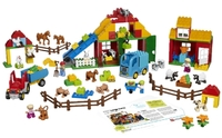 45007 Большая ферма DUPLOОбразовательные решения LEGO<br>Возрастная категория:&amp;nbsp;2-5Тип кубиков:&amp;nbsp;LEGO&amp;reg; DUPLO&amp;reg;Количество деталей:&amp;nbsp;154<br>