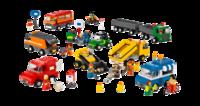 9333 Общественный и муниципальный транспорт. LEGOОбразовательные решения LEGO<br>Возрастная категория:&amp;nbsp;4+Тип кубиков:&amp;nbsp;LEGO&amp;reg; SystemКоличество деталей:&amp;nbsp;934<br>