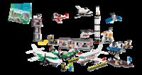 9335 Космос и аэропорт LEGOОбразовательные решения LEGO<br>Возрастная категория:&amp;nbsp;4+Тип кубиков:&amp;nbsp;LEGO&amp;reg; SystemКоличество деталей:&amp;nbsp;1176<br>