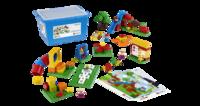 45001 Детская площадкаОбразовательные решения LEGO<br>Возрастная категория:&amp;nbsp;2+Тип кубиков:&amp;nbsp;LEGO&amp;reg; DUPLO&amp;reg;Количество деталей:&amp;nbsp;104<br>
