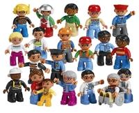 45010 Городские жители DUPLOОбразовательные решения LEGO<br>Возрастная категория:&amp;nbsp;2+Тип кубиков:&amp;nbsp;LEGO&amp;reg; DUPLO&amp;reg;Количество деталей:&amp;nbsp;21<br>