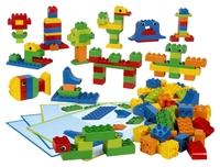 45019 Кирпичики DUPLO® для творческих занятийОбразовательные решения LEGO<br>Возрастная категория:&amp;nbsp;3-5Тип кубиков:&amp;nbsp;LEGO&amp;reg; DUPLO&amp;reg;Количество деталей: 160<br>