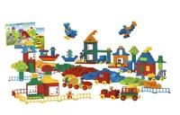 9090 Гигантский набор DUPLOОбразовательные решения LEGO<br>Возрастная категория:&amp;nbsp;1,5+Тип кубиков:&amp;nbsp;LEGO&amp;reg; DUPLO&amp;reg;Количество кубиков: 562&amp;nbsp;<br>