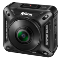 Панорамная экшн камера NIKON KEYMISSION 360 Панорамные камеры 360°<br>Вес камеры198 граммГабариты (Д&amp;times;В&amp;times;Ш мм)65.7&amp;times;60.6&amp;times;61.1Ёмкость батареи1050 мАчВстроенная памятьотсутствуетКарта памяти (MicroSD)поддерживаетРазрешение фото7744&amp;times;3872Разрешение видео3840&amp;times;2160<br><br>Вес:: 198 грамм<br>Видео:: 3840?2160<br>Фото:: 7744?3872<br>Батарея:: 1050 мАч