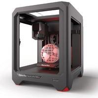 3D принтер MakerBot Replicator Mini+3D Принтеры<br>Размер рабочей камеры 101 х 126 х 126 мм;Печать из коробки (не требует спец. знаний и настроек).&amp;nbsp;3D-принтер Replicator Mini+ оснащается легкосъемным унифицированным умным экструдером с подвижным соплом, предупреждающим о прекращении подачи филамента и возможных забиваниях сопла.<br><br>Кол-во экструдеров: 1<br>Область построения (мм): 101x126x126<br>Толщина слоя: 100 микрон<br>Толщина нити: 1,75 мм<br>Расходники: ABS, PLA<br>Платформа: без подогрева<br>Гарантия: 1 год<br>Страна производитель: США